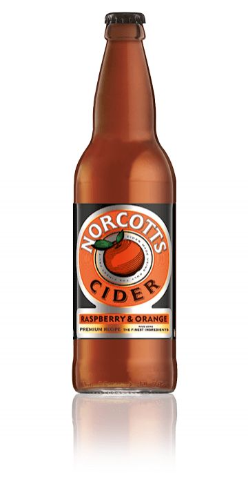 Norcotts Raspberry & Orange Cider
