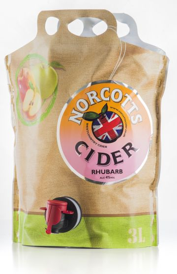 Norcotts Rhubarb Cider 3L Pouch