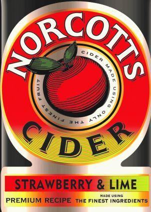 Norcotts Strawberry & Lime Cider